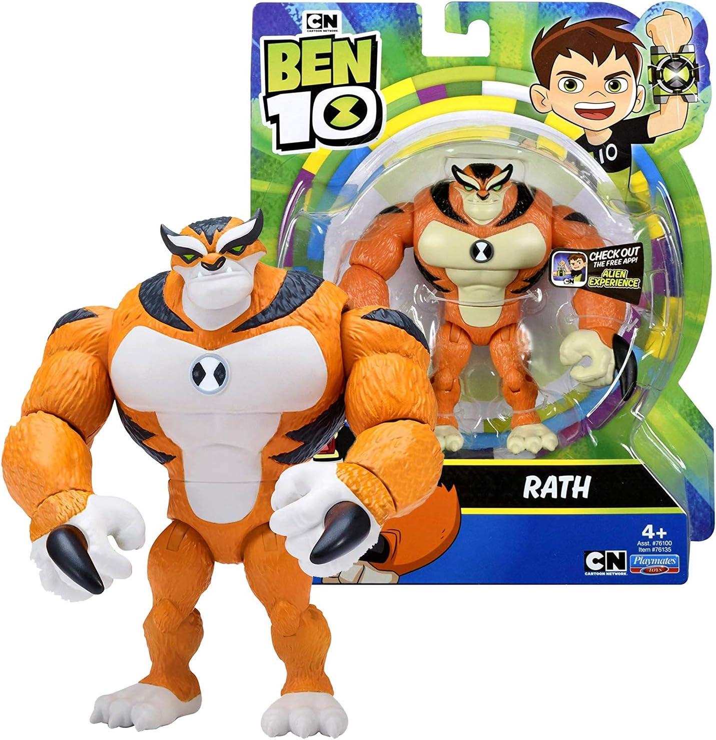Playmates Toys Cartoon Network Ben 10 Rath Action Figure