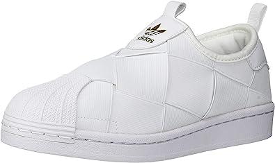 cueva Día Ondular  Amazon.com: adidas Originals Superstar - Tenis sin cordones para mujer,  Blanco, 4.5: Shoes