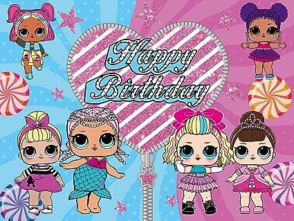 LOL Backdrop | Muñecas Niñas | Cumpleaños | Suministros para ...