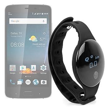 DURAGADGET Reloj Inteligente Bluetooth podómetro/calorías/distancia para actividades deportivas y al abierto/