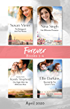 Forever Box Set 1-4 April 2020/The Bodyguard and the Heiress/Her Billionaire Protector/One Night with Her Millionaire Boss/Reunited by t (The Missing Manhattan Heirs Book 2)