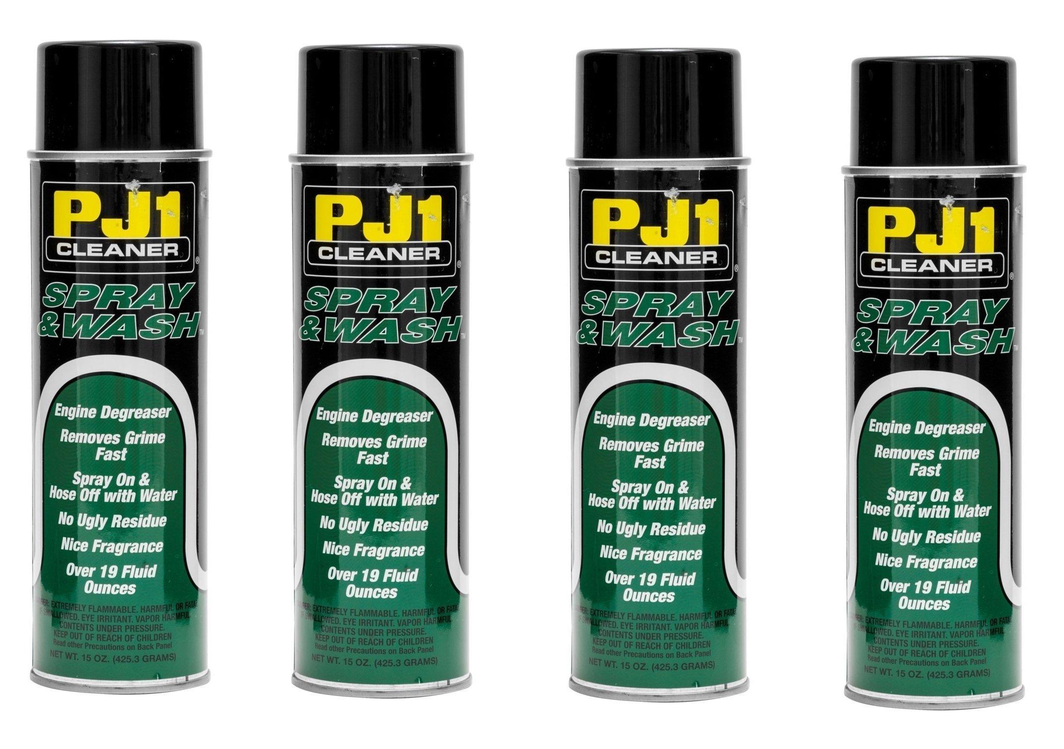 PJH 15-20-1 Pj1 Spray N Wash Degreaser - California Compliant, 15Oz. (4)