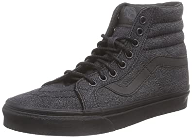 dae0f1fcdd Vans Men Sk8-Hi Reissue - Denim (black) Size 4 US