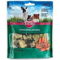 Kaytee KY00820 Nibblers Carrot Pet Treats, 5-Ounce