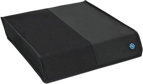 ENHANCE PS4 Dust Cover Protector de Consola PlayStation 4 con Diseño Transpirable para Liberación Rápida de Calor, Acceso Completo al Puerto Trasero, Diseño Ajustado y Construcción Reforzada - Horizontal, Negro: Amazon.es: Videojuegos