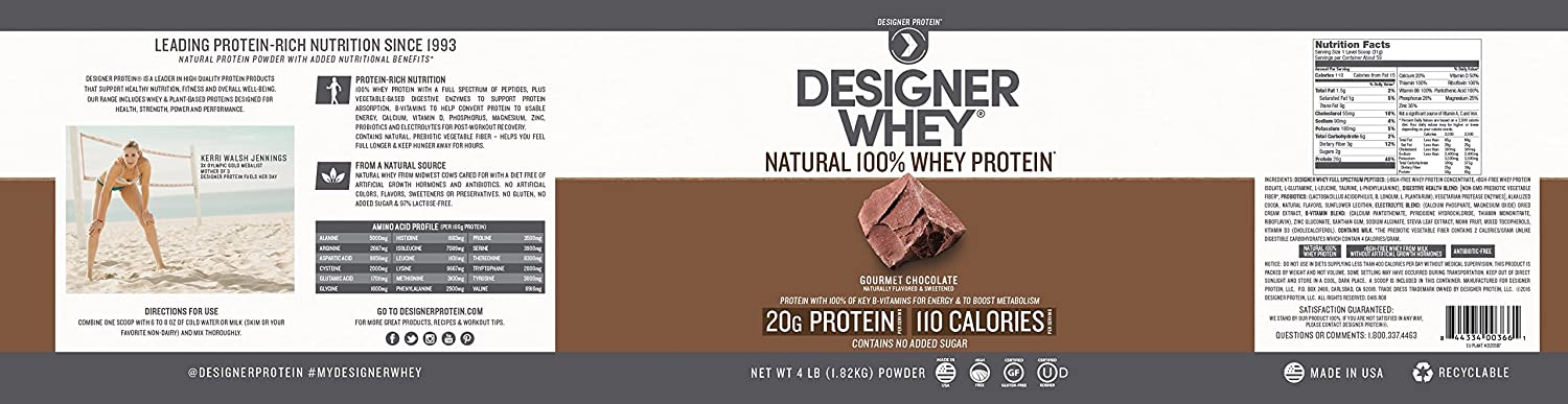 designer whey weight loss