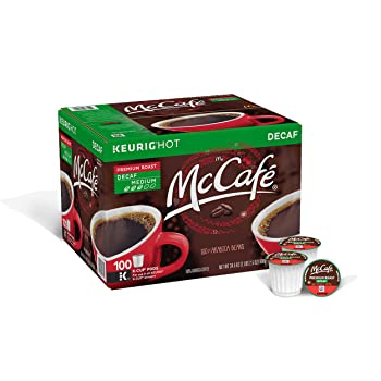 McCafeSmooth And Balanced Flavor Decaf K-Cups
