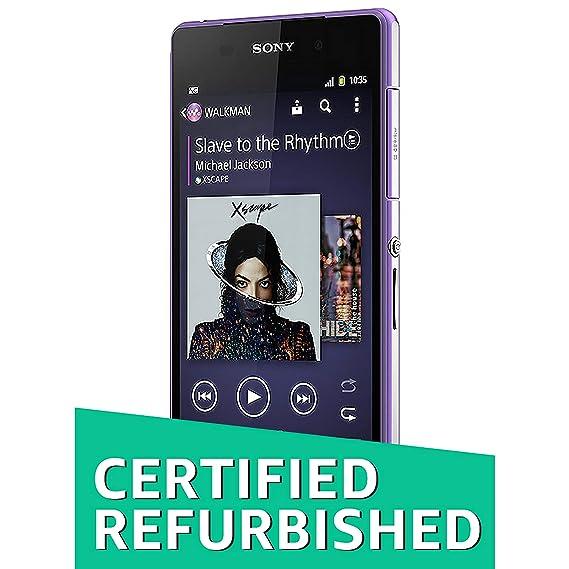 Renewed) Sony Xperia Z2 D6502 (Purple, 16GB): Amazon in