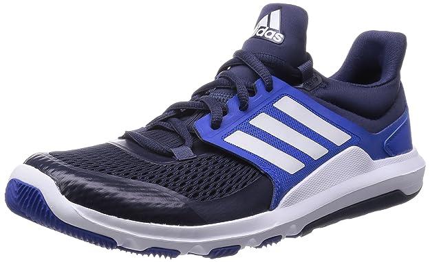 adidas adipure mens fitness scarpe / scarpe blu.