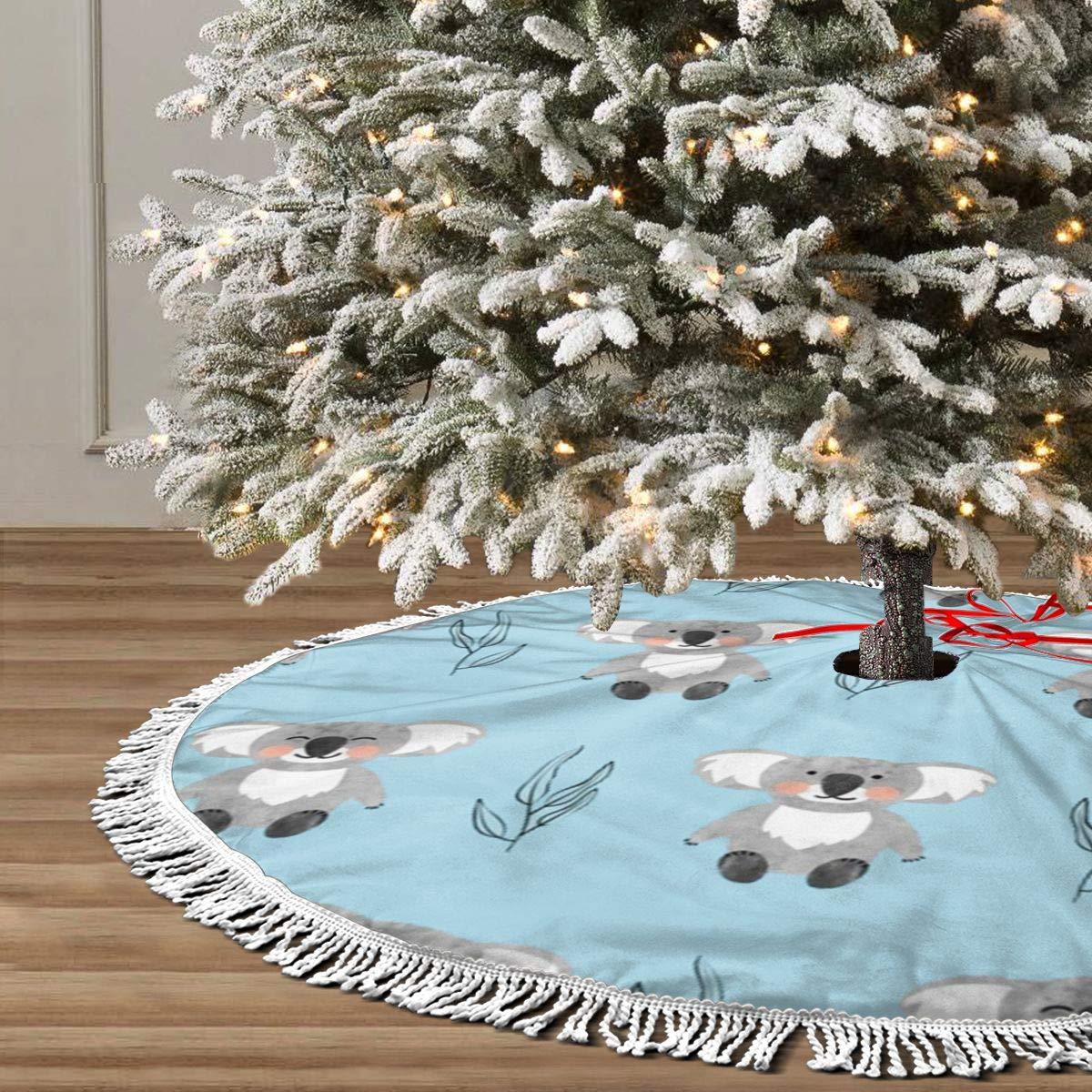 sexy world Falda de árbol de Navidad de 30 Pulgadas, Acuarela ...