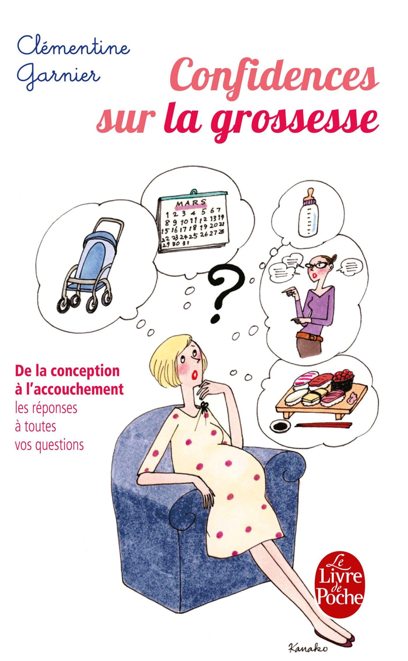 Amazon Fr Confidences Sur La Grossesse Garnier Clementine Livres