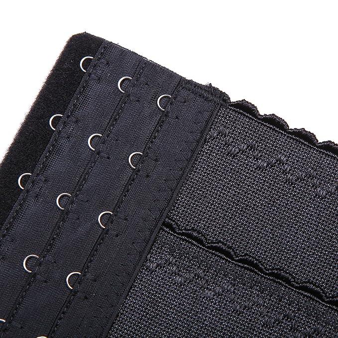 Caliente cintura corsé de entrenador, las mujeres abierto pecho Body Seamless Firm Control para mujer ropa interior body shaper, color negro, ...