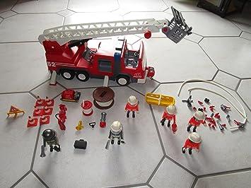 PLAYMOBIL 3879 - Vehículo Escalera aérea: Amazon.es: Juguetes y juegos