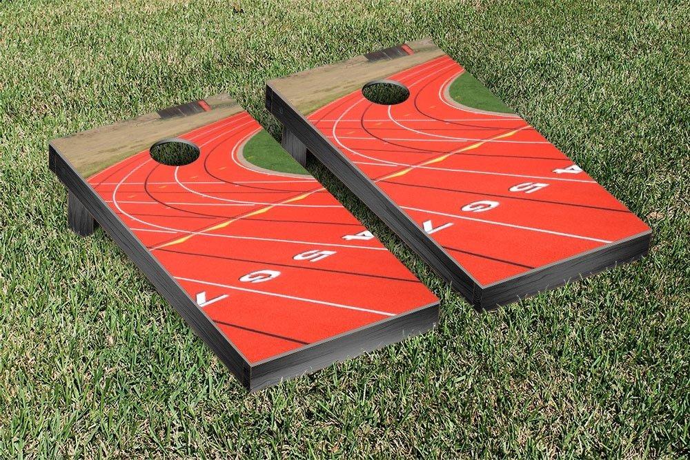 Track and Field Cornhole Game Set