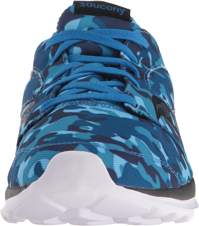 Saucony Men's Kineta Relay Running Shoe Blue/Camo