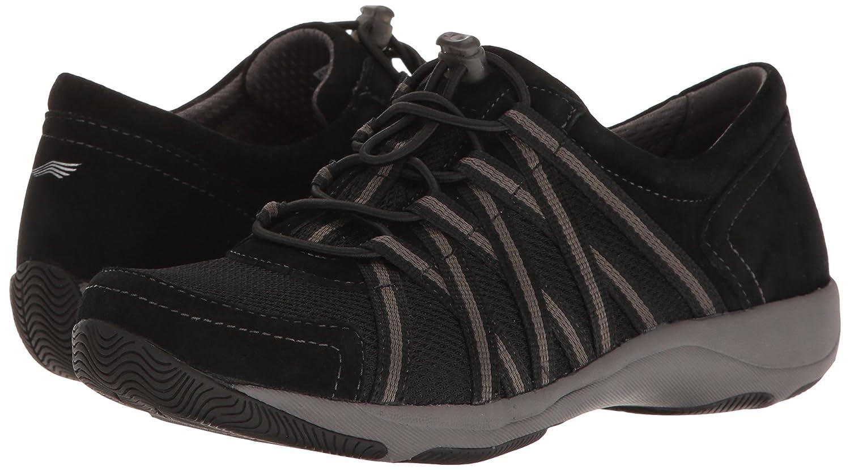 Dansko 41 Women's Honor Sneaker B01N1YNLZR 41 Dansko EU/10.5-11 M US|Black/Black Suede cd1ff0
