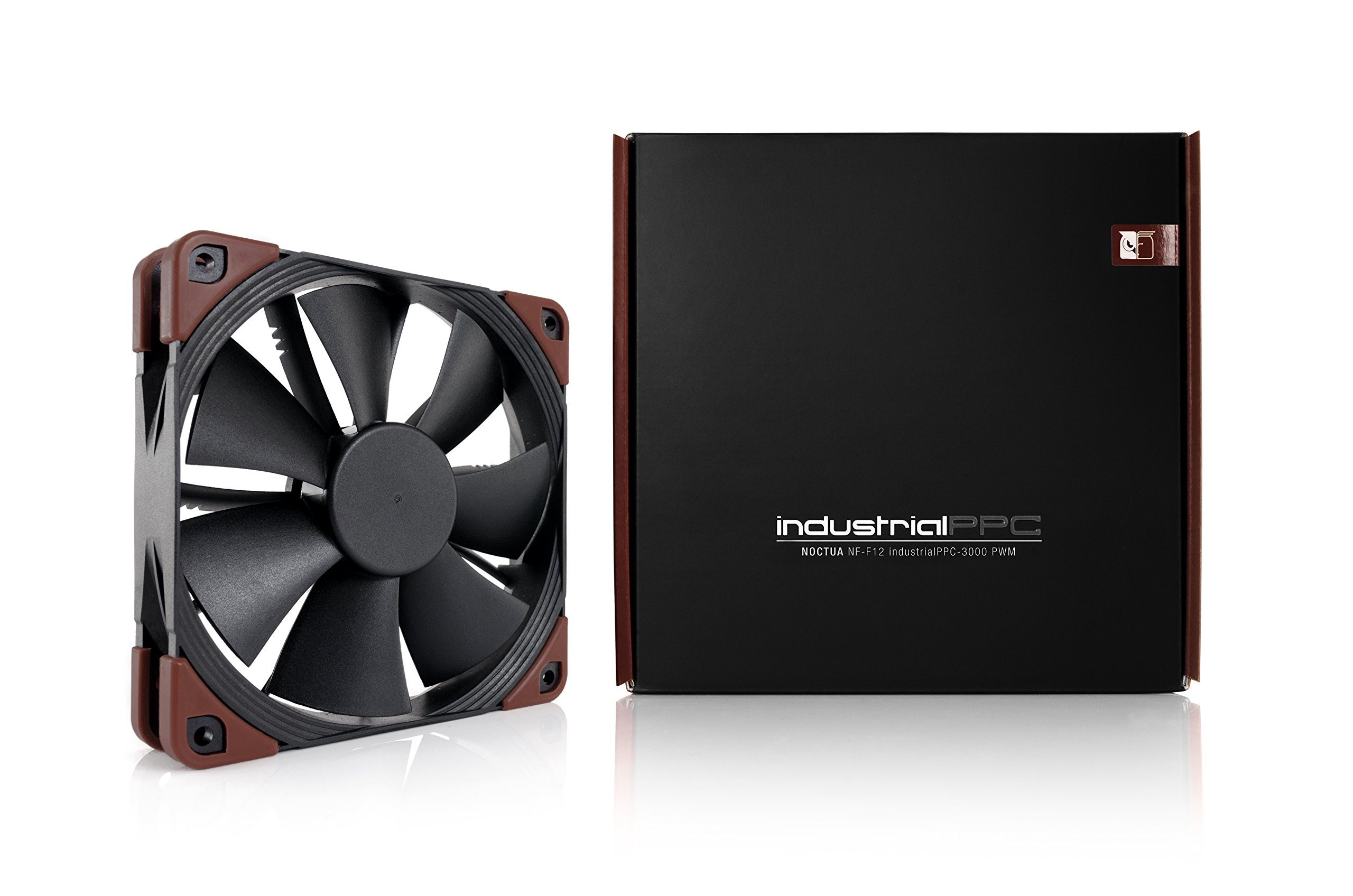 Noctua Fan with Focused Flow and SSO2 Bearing, Retail Cooling NF-F12 iPPC 3000 PWM by noctua (Image #4)