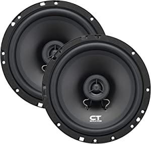 """CT Sounds 6.5 Inch Coaxial Car Speakers, 2 Way Full Range, 30W (RMS) 