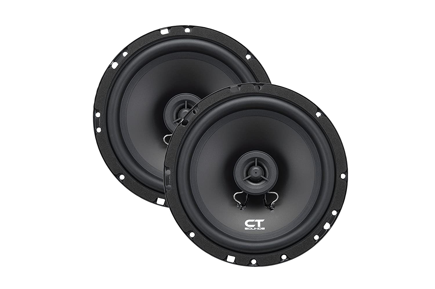 Ct Sounds Bio 65 Inch 2 Way Silk Dome Coaxial Car 2000 Ford Mustang Speaker Speakers Pair Electronics