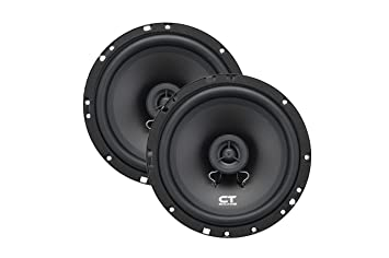 ct sounds bio 6 5 inch 2 way silk dome coaxial car speakers pair