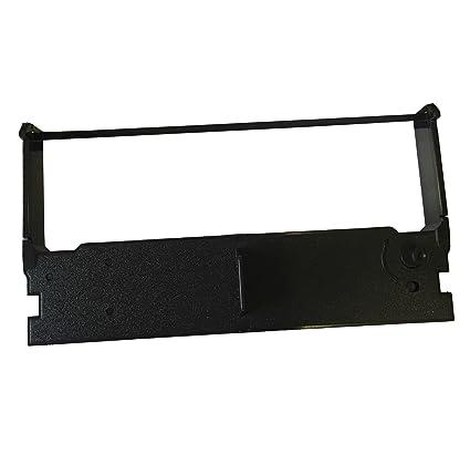Casio Compatible Cinta de tela. Negro/Rojo - Caja registradora de ...
