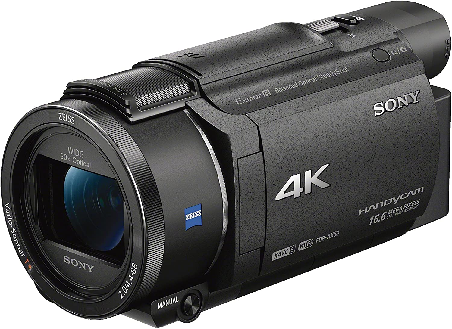 Sony FDR-AX33 4K best low light video Handycam