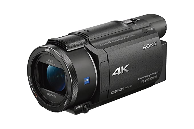 amazon com sony fdrax53 b 4k hd video recording camcorder black rh amazon com Panasonic Video Camera Sony Video Camera