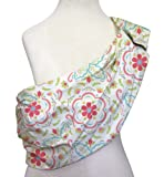 Amazon Price History for:Mila Adjustable Baby Sling by The Peanut Shell - Coral Pink Floral
