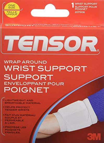 Tensor Adjustable Wrist Support Wrap, One-Size