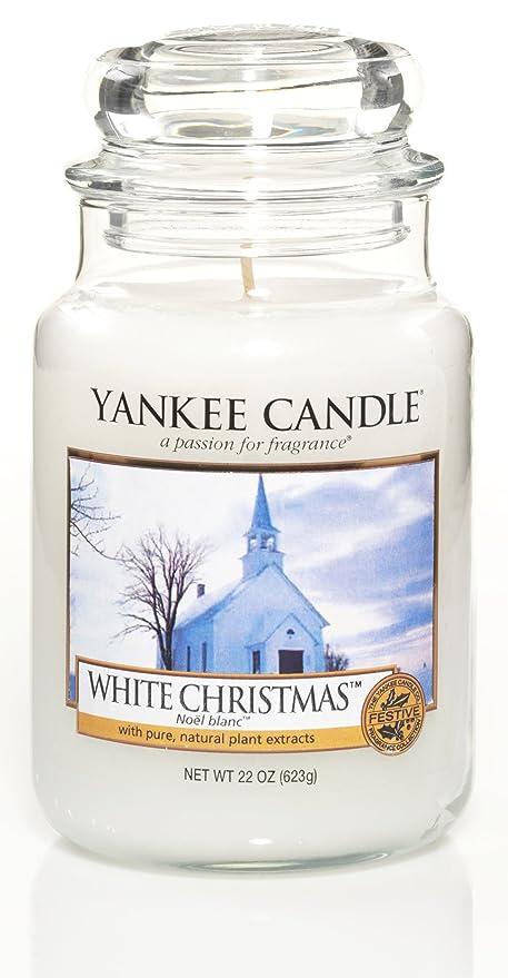 white christmas large jar yankee candle - Yankee Candle White Christmas