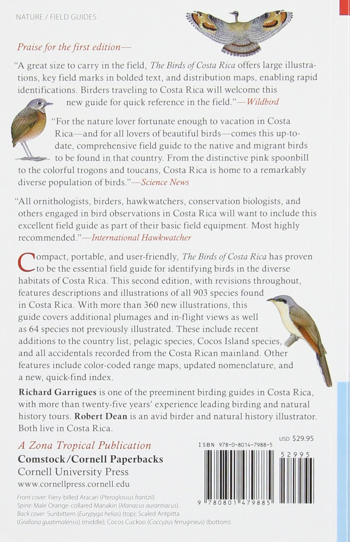 The Birds of Costa Rica: A Field Guide (Zona Tropical Publications ...