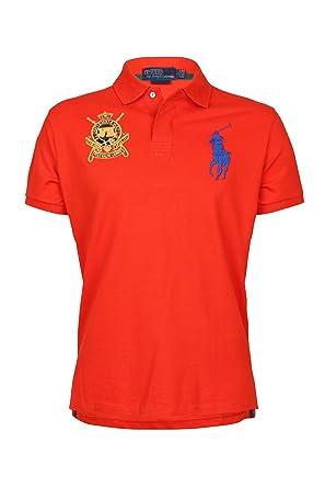 Homme Orangebleu Club Jockey Lauren Polo M Pour Ralph n80wOXkP