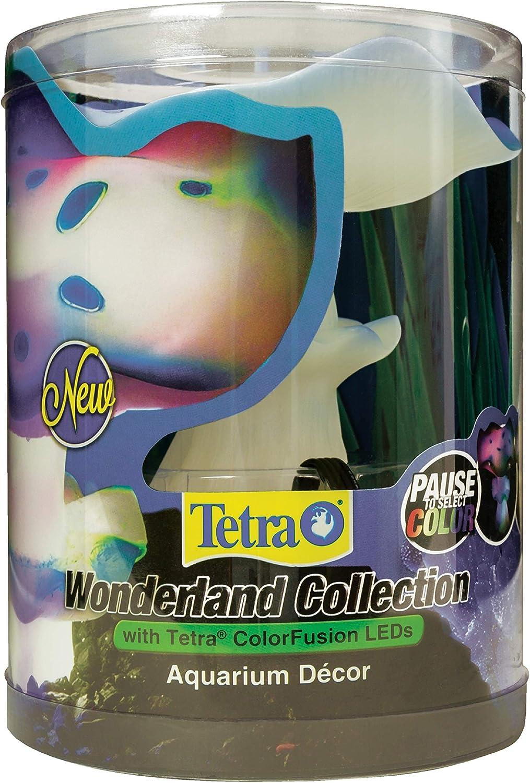 Tetra 26655 Wonderland Collection LED Color-Changing Mushroom