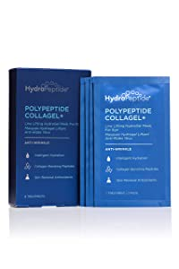 HydroPeptide Polypeptide Collagel Plus Eye Masks, 8 Count