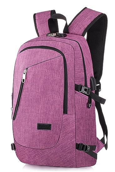 Vintage PU Leder Reisetasche Schultasche Herren Damen Bag City Rucksack Freizeit