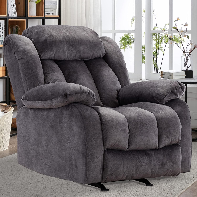CANMOV Rocker Recliner Sofa