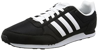 Adidas Neo City Racer Black White