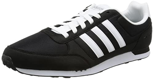 hot sale online 09a03 d566d adidas Neo City Racer, Mens Running Shoes, Black (Cblackftwwhtgrey