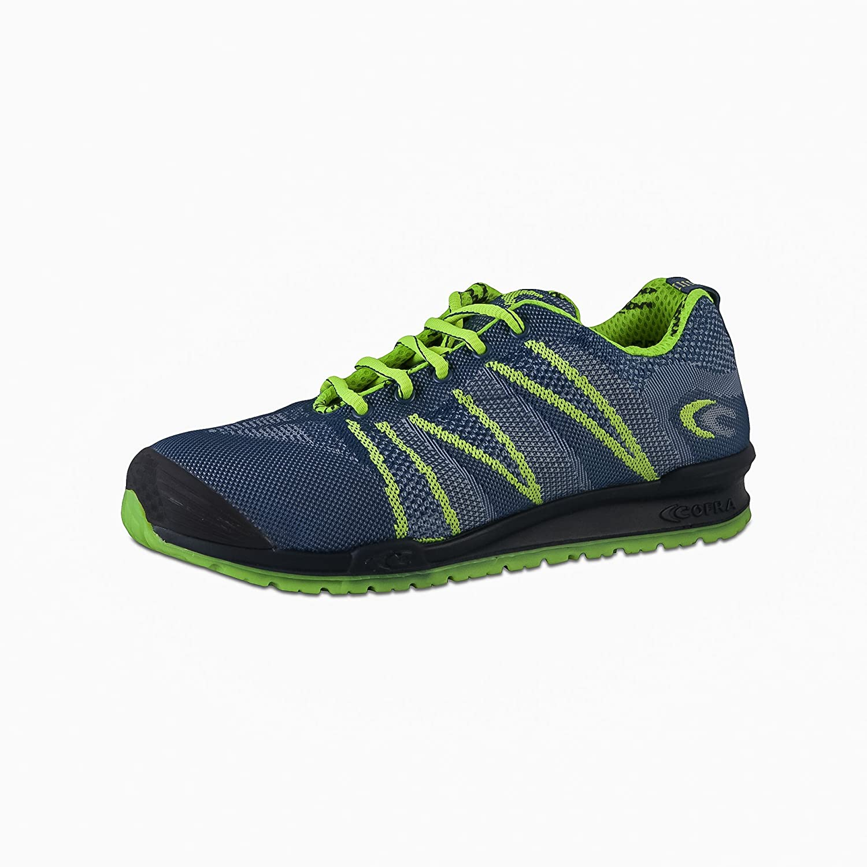 Cofra 78800 - 001.w44 tamaño 44 S1 P SRC Fluent - Zapatos de seguridad luz azul/luz verde: Amazon.es: Bricolaje y herramientas