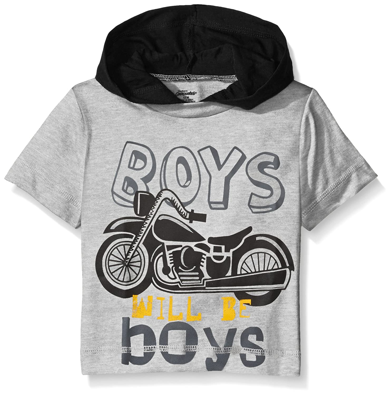 Gerber Graduates Baby Boys' Hooded Short Sleeve T-Shirt 89834116A