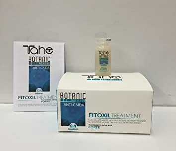 Tahe Botanic Tricology Fitoxil Anti-Hair Loss Treatment 5x10ml with active vegetable mother cells,
