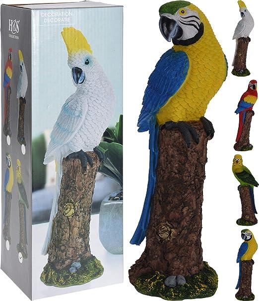 PERAGASHOP Pájaro en Tronco Modelo a Elegir Accesorios decoración jardín Statuine: Amazon.es: Jardín