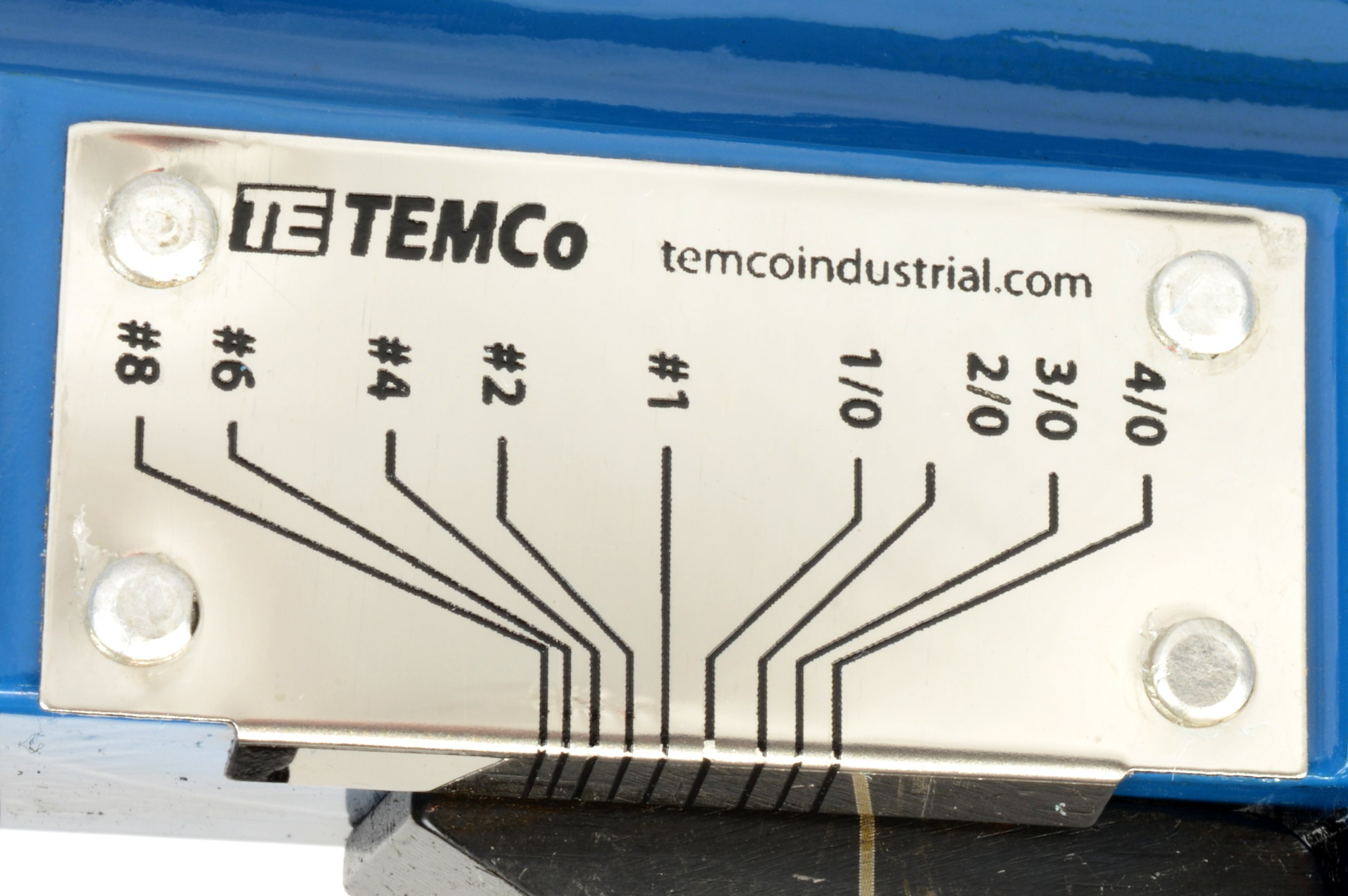 TEMCo Lug Crimper Tool TH0012-8 AWG - 0000 AWG(4/0) DIELESS Indent Electrical Battery Terminal Cable Wire 5 YEAR WARRANTY by Temco (Image #6)