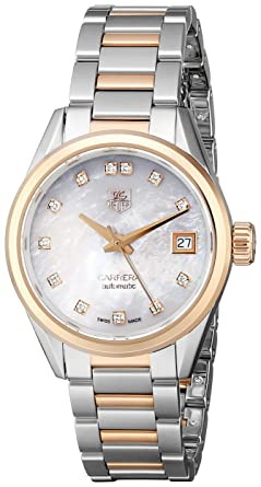 92f464d5526a Image Unavailable. Image not available for. Color  Tag Heuer Carrera Women s  ...