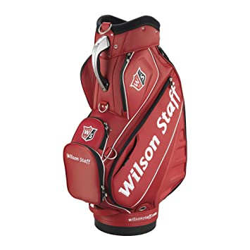 Amazon.com: Wilson Staff Pro Tour Cart – Bolsa, color rojo ...