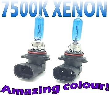 2x Hir2 Birne Lampe Glühlampe Halogen 9012 Weiss Px22d 12v 55w Kfz Scheinwerferlampe Glühbirne Autolampe Hir 2 Sockel Fassung Px22d White Light Xenon Optik Auto