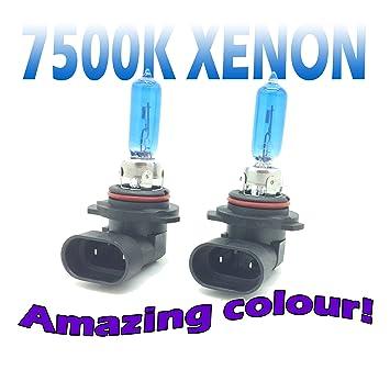2x HIR2 Bulbs Bulbs Halogen 9012 White PX22d 12V 55W KFZ Headlight bulb  Bulbs Autolampe HIR 2 Base / Sockets PX22d White light Xenon Effect