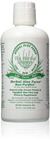 Herbal Answers Herbal Aloe Force Aloe Vera and Herbal Dietary Supplement