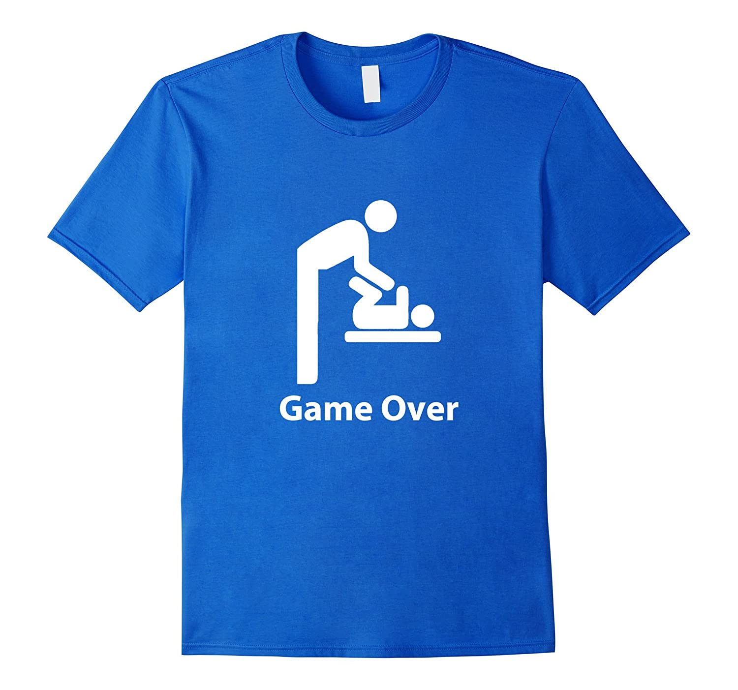 57187a1b Game Over T-Shirt Expectant Dads To Be Fathers Day Gift-TH - TEEHELEN