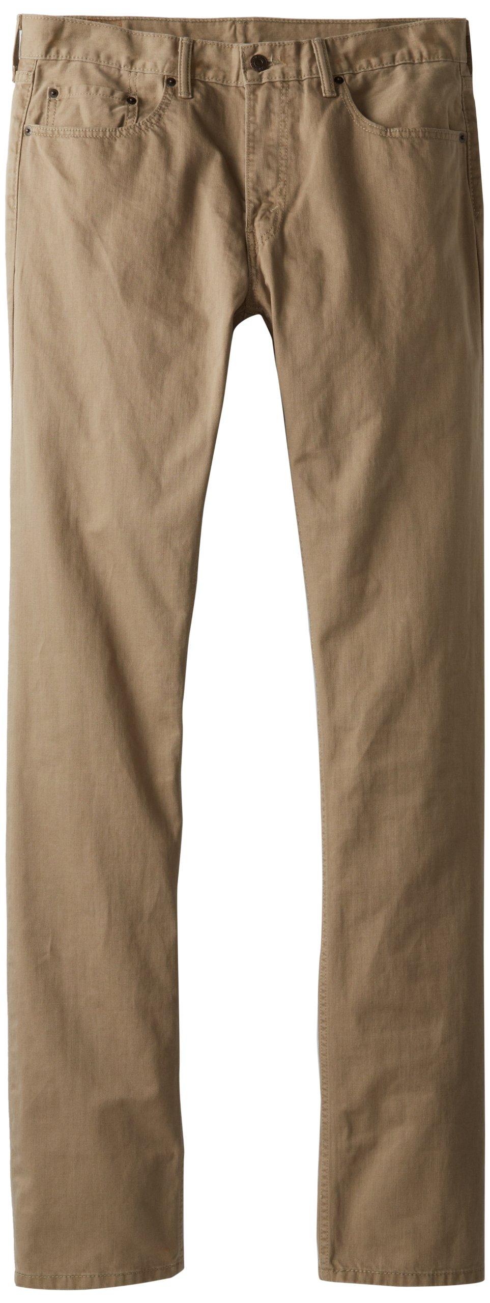 Levi's Men's Big-Tall 559 Relaxed Straight Fit Slub Twill Pant, Timberwolf, 40Wx36L